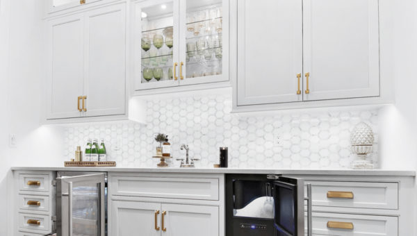 Creating a Functional Butler's Pantry / Wet Bar